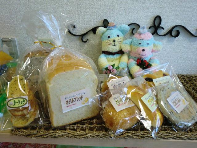 パンの商品ラインナップ