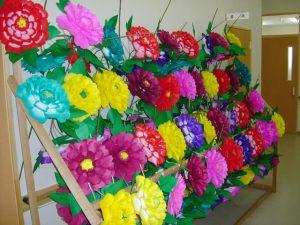 日高火防祭で使用する花 もはや伝統工芸の域